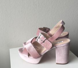 even&odd schoenen, poederroze, 38
