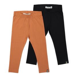 Koko noko 2-pack legging black/rusty