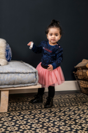 B.nosy baby girls sweater aop marble