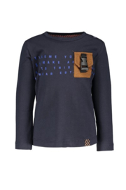 B.nosy baby boys longsleeve with patched pocket