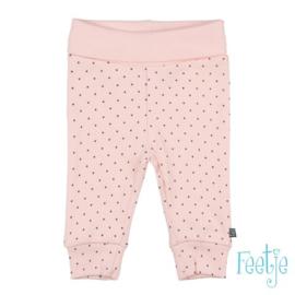 """Feetje Broek aop roze  """"Dots"""""""
