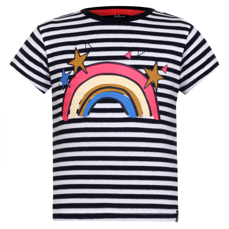 T-shirt stripe rainbow