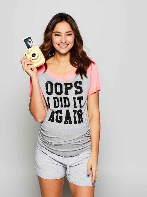 "T-shirt ""Oops I did it again"""