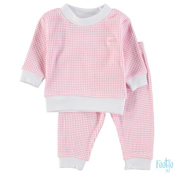 Feetje Wafel pyjama pink