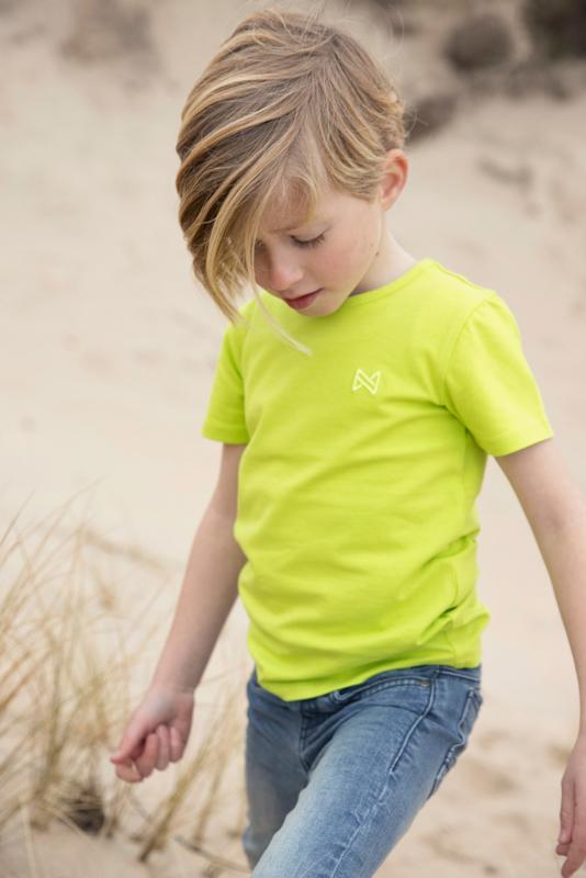 Koko noko t-shirt Nigel neon yellow