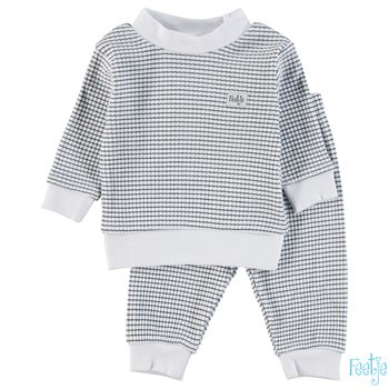 Feetje Wafel pyjama navy