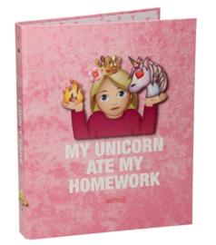Emoji ringband 23r unicorn (8186)