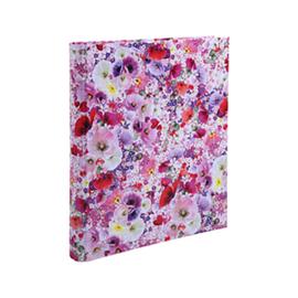 Chacha ringband 2r roze bloemen (8782)