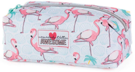 "Awesome Mermaid etui ""flamingo"" (7933)"