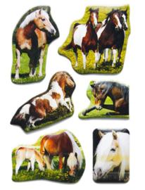 Herma 6197 Paardenstickers 6x 3D