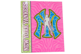 New York Yankees Ringband 23r  roze / blauw (5720)