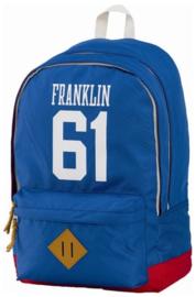 Franklin & Marshall rugzak 61 blauw (0077)