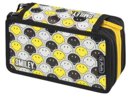 Smiley World schooletui gevuld zw/w (3061)