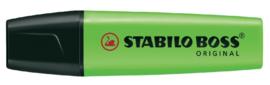 Stabilo Boss markeerstift neon groen (3641)