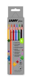 Lamy plus kleurpotloden 6st in karton (0060)