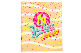 New York Yankees Ringband 23r roze/oranje