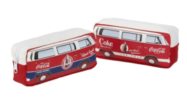 Coca cola wit/rood bus (7346)