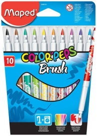 Maped COLOR'PEPS Brush stiften 10-delig