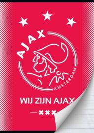 Wij zijn Ajax A4 schrift gelinieerd (9036)
