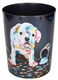 """Prullenmand """"hond verf"""" (6639)"""