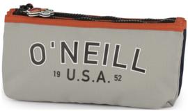 O'Neill boy's etui tekst grijs dubbel (4381)