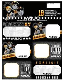 Mojo etiketten Brooklyn (4719)