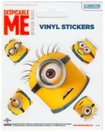 Minions vinyl stickers 3