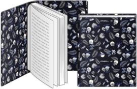 Dresz O'Neill rekbaar boekenkaft zwart/wit A4 (2427)
