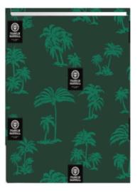 Rekbaar boekenkaft Franklin & Marshall groen A4
