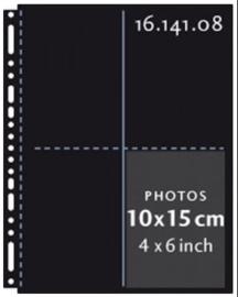 Henzo 16.141.08 fototassen 10x15 zwart