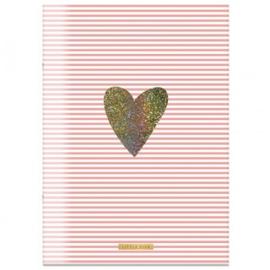 Little Diva A4 schrift gelinieerd roze
