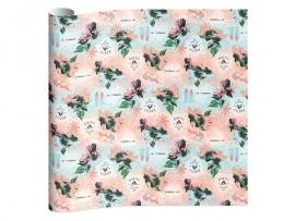 O'Neill girls kaftpapier pastel blauw/roze (4701)