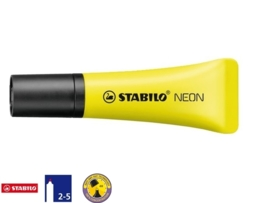 Stabilo markeerstift tube neon geel (1104)