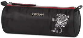 Supertrash etui black tiger rond (0875)