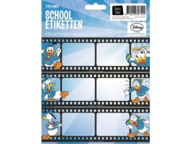 """Donald Duck etiketten """"movie"""" (7424)"""