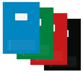 Hamelin A4 schriften lijntjes kleur uitzoeken