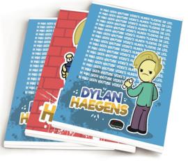 "Dylan Haegens team A5 schriften ""ik mag geen"" (7226)"