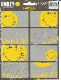 Smiley happy collection etiketten (4312)