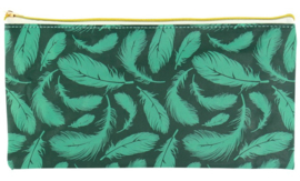 Plat etui green feather (4327)