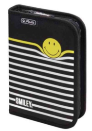 Smiley World gevuld etui gestreept (3023)
