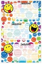 Smiley world etiketten