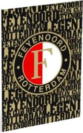 Feyenoord schrift A4 lijn (4958)