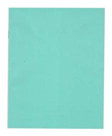 A5 schrift lijn blauw PP-kaft