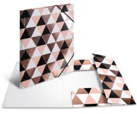 Elastomap A4 driehoekjes (3184)