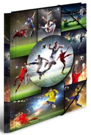 "Elastomap A4 ""voetbal"" (2989)"