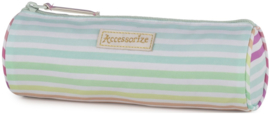 """Accessorize Sweet etui rond stripes """"tropical"""" (2585)"""