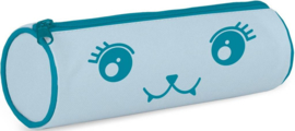 "Bubble Cute etui rond blauw ""Rayray"" (2037)"