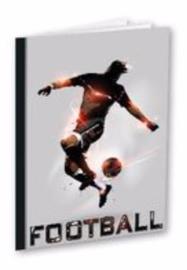 Football A4 schrift geruit (2881)