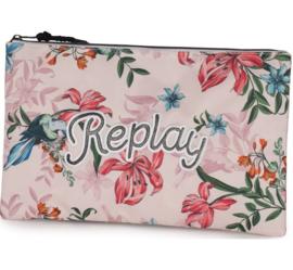 Replay Girls etui roze SUPER groot (5937)