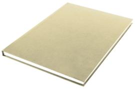 Bruin kraft notitieboek A4 (0372)